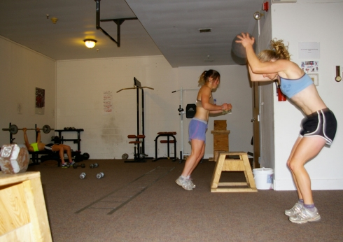 Strength circuit with Craftsbury GRP
