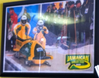 Jamaican Bobsled Team, circa 1988. Feel the rhythm, feel the rhyme!