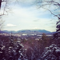Hiking near Lake Placid, N.Y.